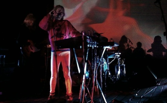 Ariel Pink performs at the Henry Miller Library in Big Sur